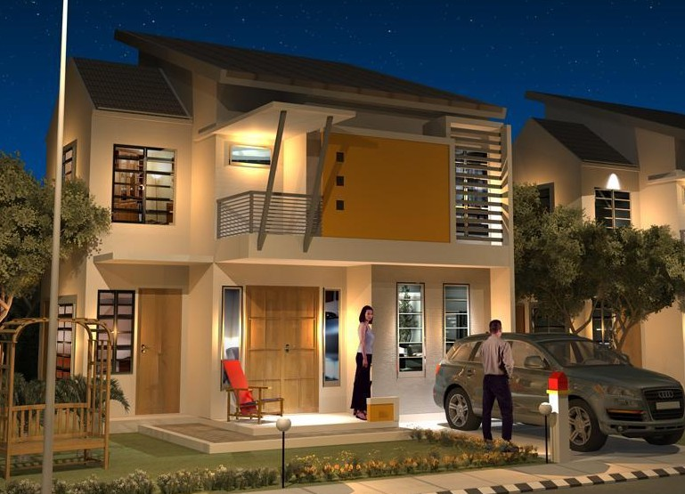 desain gambaran rumah minimalis tampak depan yang oke