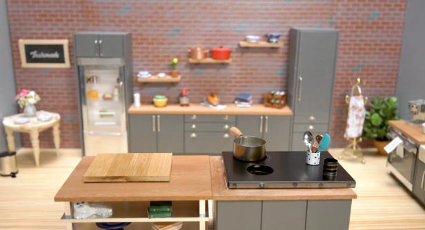 kitchen set praktis