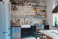 kitchen set terbuka