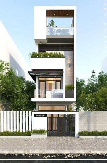 rumah minimalis lebar yang sempit tapi tinggi ke atas