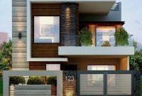 rumah modern minimalis tingkat