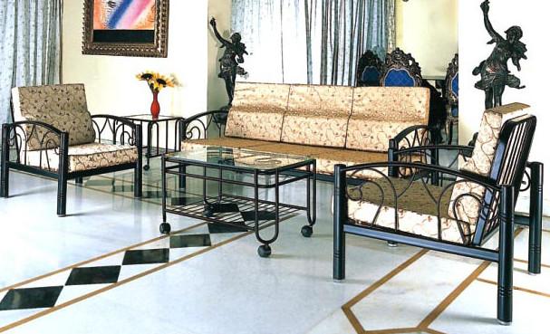 Kursi dan Meja Besi Untuk Ruang Tamu