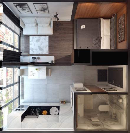 Desain Kos Kamar Mandi Dapur
