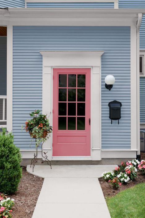 Warna Pintu Pinky Kayu
