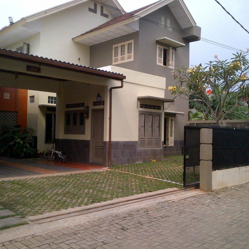 Rumah Minimalis Modern Pintu Di Samping