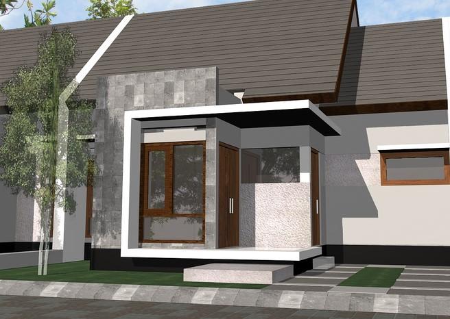 Desain Model Rumah Pintu Nyamping