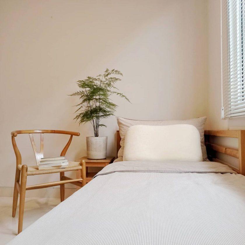 Kamar tidur minimalis klasik sehat
