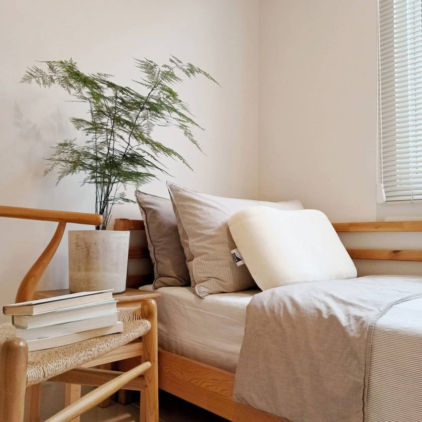 Konsep kamar tidur bagus kecil sederhana
