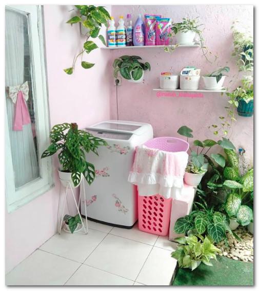 ruang cuci di belakang