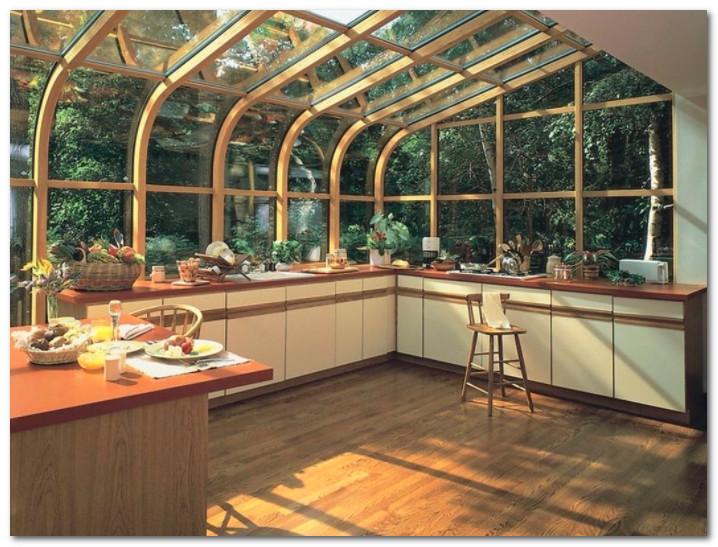 atap dapur transparan