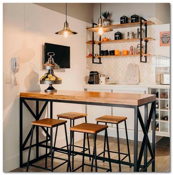 minibar industrial minimalis