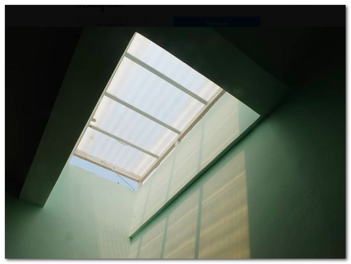 ventilasi atap dapur pencahayaan