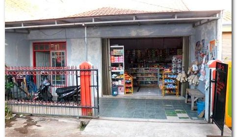 contoh rumah dan toko menyatu